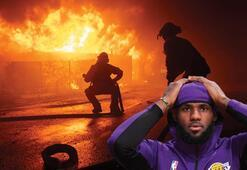 Son dakika | Resmen felaket LeBron James de tahliye edildi...