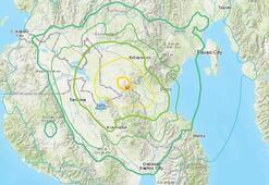 Filipinlerde 6.6 büyüklüğünde deprem