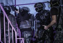 Gaziosmanpaşada uyuşturucu operasyonu: 40 gözaltı
