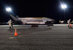 ABDnin gizemli uzay uçağı iki yıllık gizli görevinden döndü