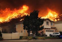 California yanıyor LeBron James ve Schwarzenegger dahil binlerce kişi evlerini terk etti