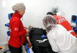 Türk doktorları Tel Abyadlılara hizmet vermeye başladı