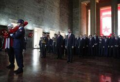 Cumhuriyet Bayramı coşkusu Devlet erkanı Anıtkabirde