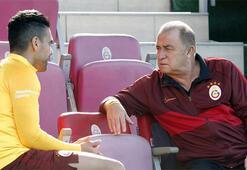 Fatih Terim, Falcao ile özel görüştü