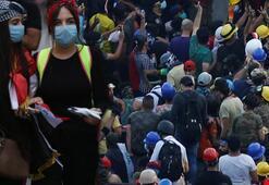 Son dakika | Yasak dinlemiyorlar Binlerce kişi sokağa döküldü