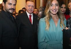 Cumhurbaşkanı Erdoğan bir bir ilgilendi... Kabul töreninden kareler