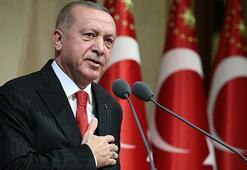 Cumhurbaşkanı Erdoğanı Barış Pınarı Harekatında görev yapan askerler karşıladı