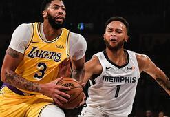 Davis coştu, Lakers kazandı: 120-91