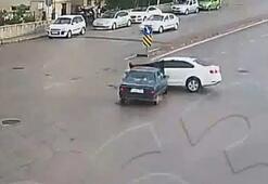 Çanakkaledeki trafik kazaları mobese kameralarına yansıdı