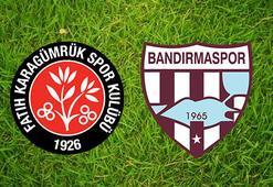 Fatih Karagümrük-Bandırmaspor Ziraat Türkiye Kupası maçı saat kaçta hangi kanalda