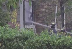 Uçak evin üzerine düştü: 1 ölü