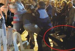 29 Ekim kutlamalarında belediye başkanına saldırı