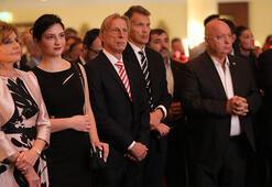 Almanyadaki Cumhuriyet Resepsiyonuna Christoph Daum da katıldı
