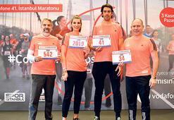 Yıldız isimlerden maratona davet