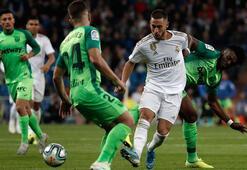 Real Madridden Leganese karşı rahat galibiyet