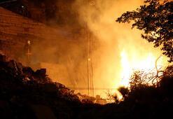 Ankarada gecekondu yangını