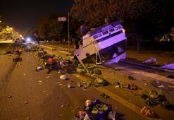 Ankarada otomobil ile kamyonet çarpıştı: 2 yaralı