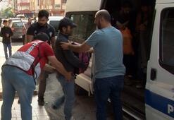 2+1 bir dairede 25 kaçak göçmen yakalandı