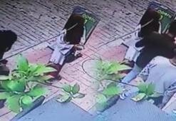 Güpegündüz kapkaç yaptılar O hırsız yakalandı
