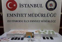 Zeytinburnunda uyuşturucu operasyonu; İran uyruklu 3 kişi yakalandı