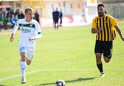Bursaspor zorlansa da turladı: 1-2