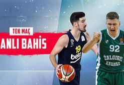 Fenerbahçe - Zalgiris maçı canlı bahis heyecanı Misli.comda