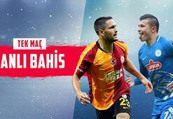 Galatasaray - Rizespor maçı canlı bahis heyecanı Misli.comda
