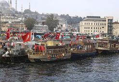 Mahkemeden Eminönündeki balık ekmek satan tekneler için karar