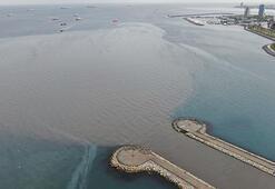 Marmara Denizine çamur aktı