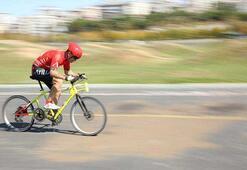 Kullanacağım yöntemi sakın denemeyin Bisikletle 200 kilometre hız...