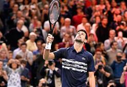 Novak Djokovic, Paris Masters Tenis Turnuvasında finalde