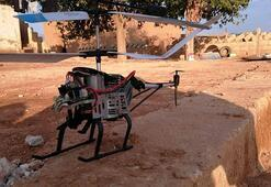 Suriye Milli Ordusu Ayn İsa kırsalında drone helikopter düşürdü