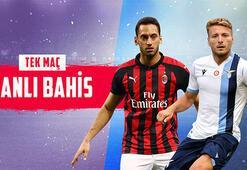 Milan-Lazio maçı canlı bahis seçeneğiyle Misli.comda