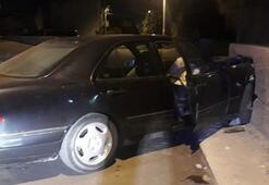 Tamire getirilen araç ile kaza yapan çırak ve arkadaşı yaralandı