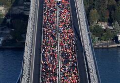 Vodafone İstanbul Maratonundan renkli görüntüler...