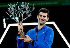 Paris Mastersta şampiyon Djokovic