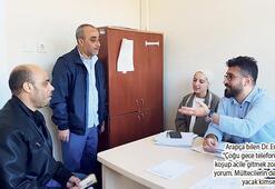 4 yılda 4 bin mülteci hastayı muayene etti