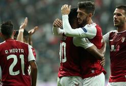 Beşiktaşın rakibi Braga ligde berabere kaldı