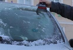 Kars donuyor Sıcaklık 10 derece düştü