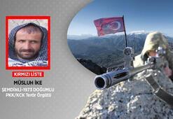 Son dakika Kırmızı kategoride aranan PKKlı terörist öldürüldü