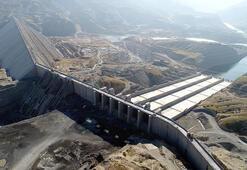 Ilısu Barajında 600 milyon metreküp su depolandı