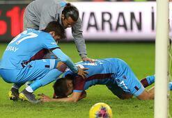 Trabzonsporun sakatlık kabusu