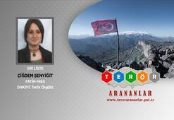 Gri kategorideki terörist Çiğdem Şenyiğit İstanbulda yakalandı