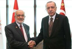 Erdoğandan Karamollaoğluna tebrik mesajı