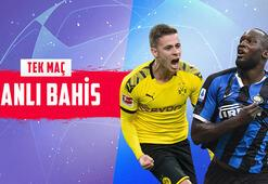 Dortmund - Inter maçında canlı bahis heyecanı Misli.comda