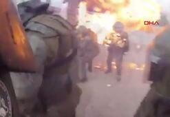 Şilide eylemciler, polise molotof kokteyli attı