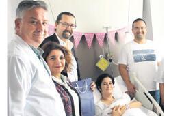 Galen'in ilk bebeği doğdu