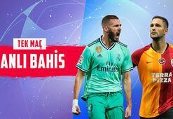 Real Madrid – Galatasaray maçının canlı bahis heyecanı Misli.comda