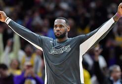 Lakers, LeBron Jamesle kazanmaya devam ediyor