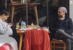 Hazal Kaya-Ali Atayın moral yemeği